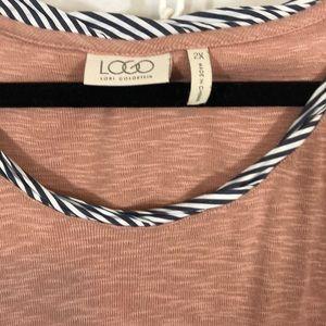 LOGO by Lori Goldstein Tops - Logo swing tank 2x
